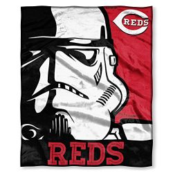 Officially Licensed MLB Intimidation HD Silk Touch Throw Blanket, Soft & Cozy, Washable, Thr ...