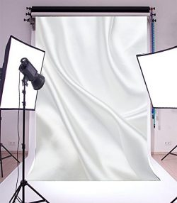 Yeele 5x7ft Photography Backdrop Flutter Fold White Curtain Stage Pattern Dream Color Seamless V ...