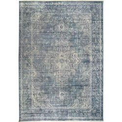 Home Dynamix Nicole Miller Artisan Caya Area Rug 5'3″x7'9″, Border Blue