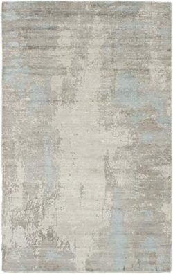 Hand Made | Area Rug for Living Room, Bedroom | Home Decor Rug | Galleria Casual Grey Rug 5&#821 ...