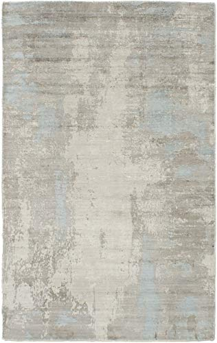 Hand Made | Area Rug for Living Room, Bedroom | Home Decor Rug | Galleria Casual Grey Rug 5̵ ...