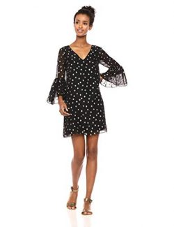 Lilly Pulitzer Women's Caroline Silk Tunic Dress, Onyx Starry Clip Chiffon, 10