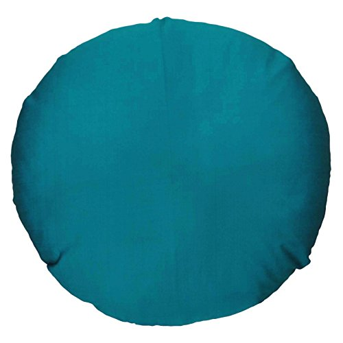 BeyondLiving Indian Cushion Cover Round Home Decor Throw Pillow Silk Blend Case 22 Inches Diameter