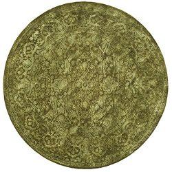 Safavieh Silk Road Collection SKR213D Handmade Sage New Zealand Wool Round Area Rug (3'6&# ...
