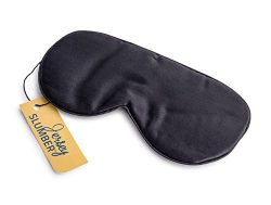 Jersey Slumber 100% Silk Sleep Mask For A Full Night's Sleep | Comfortable & Super Sof ...