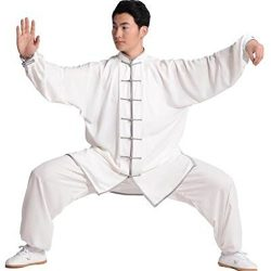 BJSFXDKJYXGS Tai Chi Uniform Luxurious Korean Cotton Silk Stretch Taichi Suits Traditional Tai C ...