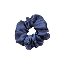 LilySilk Pure Silk Charmeuse Scrunchy -Regular -Scrunchies For Hair – Silk Scrunchies For  ...
