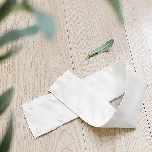 Vangao Curtain Tiebacks for Curtains Hold Backs 2Pcs – White
