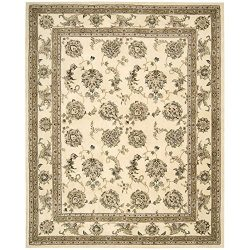 Nourison Silk Touch Ivory Rug – 5′ x 8′
