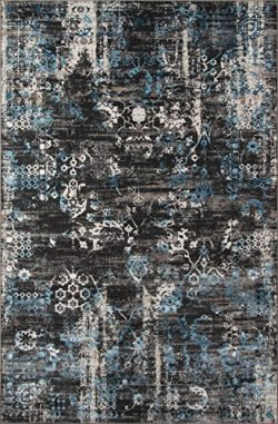 Momeni Rugs JULIEJU-01CHR5076 Juliet Collection Transitional Area Rug, 5′ x 7'6&#824 ...