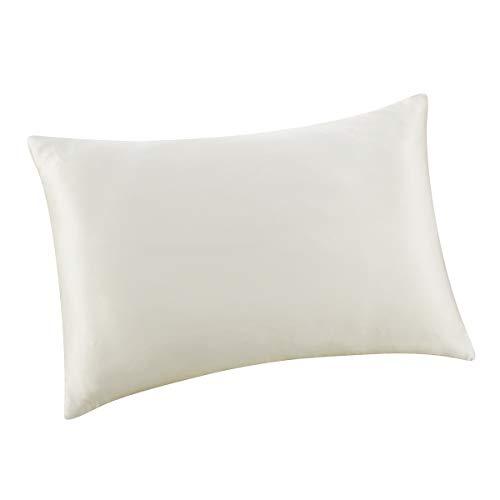 ALASKA BEAR Luxurious 25 Momme Silk Pillowcase, 100% Mulberry Silk Pillow Case Cover, Standard ( ...