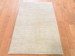 2'3″x4'1″ Hand-Knotted Wool and Silk Tone-on-Tone Nepali Oriental Rug G45097