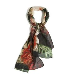 Van Huysum's Vase of Flowers – Women's Scarf – 100% Silk by Getty Museum ...