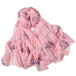 Scarves Lightweight Shawl Scarf Print Chiffon Sunscreen Shawls for Women