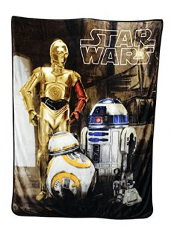Disney Star Wars Silk Throw 60″ x 80″