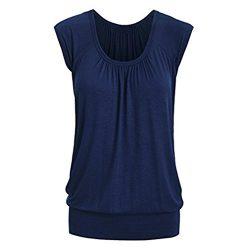 UONQD Woman blouse black design white blouses for women ladies online shirt womens tie neck flor ...