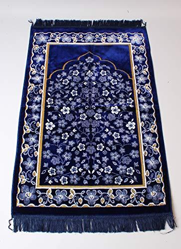 Château Islamic Prayer Mat Turkish Sajadah Design Islamic Prayer Rug – Silk High Qualitiy  ...