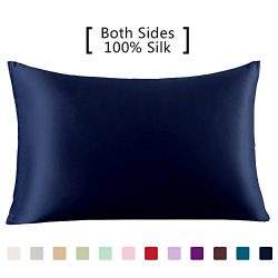 YANIBEST Silk Pillowcase for Hair and Skin – 600 Thread Count 100% Mulberry Silk Bed Pillo ...