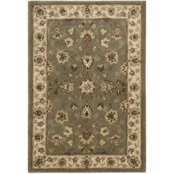 Nourison Nourison 2000 (2003) Olive Rectangle Area Rug, 2-Feet by 3-Feet  (2′ x 3′)