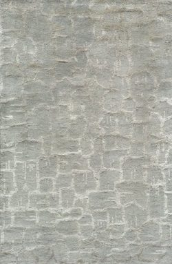 Momeni Rugs ZEN00ZEN-1SEA5080 Zen Collection, Wool & Banana Silk Hand Tufted Contemporary Ar ...