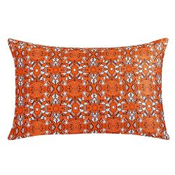 ZIMASILK 100% Natural Silk Pillowcase for Hair and Skin Health, Floral Print, 1pc (Standard20 ...