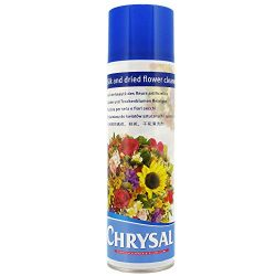 Chrysal Silk and Dried Flower Cleaner Spray – 17 oz