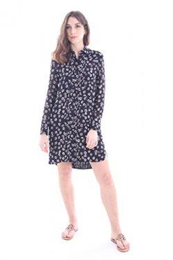Tory Burch Womens Avery Silk Printed Shirtdress