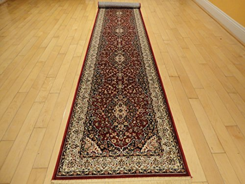 Silk Red Rug Persian Area Rugs Traditional Rug Living Room Accent Rug 2×8 Rug 5×8 Rugs ...