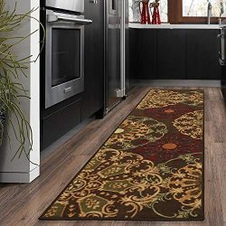 "Silk Road Concepts SR-OTH2268-2X7 Runner Rug, 1'10"" x 7′, Brown"