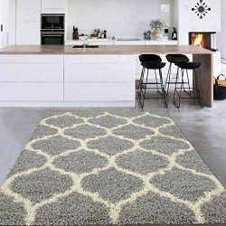 Silk Road Concepts SR-COZY3333-3X5 Collection Moroccan Rugs, 3'3″ x 4'7″ ...
