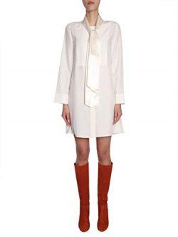Tory Burch Women's 47383104 White Silk Dress
