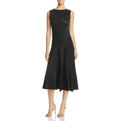 Tory Burch Womens Hailee Wear to Work Day to Night Midi Dress
