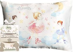 Toddler Pillowcase 100% Silk – Kids Pillow Cover 13×18 – Natural, Hypoallergeni ...