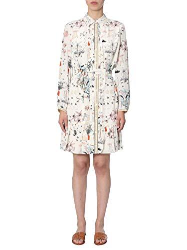 Tory Burch Women's 59777990 White Silk Dress