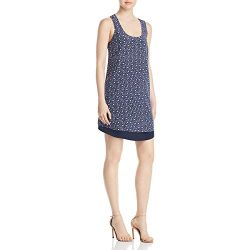 Tory Burch Womens Sydney Silk Floral Print Casual Dress