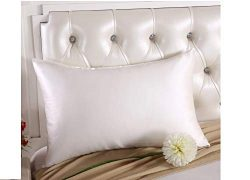 fumak Blissy Silk Pillowcase – 100% Nature Mulberry Silk Pillowcase Zipper Pillowcases Pil ...