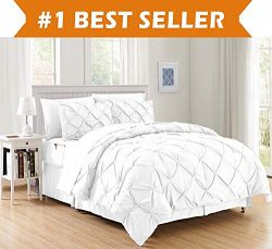 Luxury Best, Softest, Coziest 8-Piece Bed-in-a-Bag Comforter Set on Amazon! Elegant Comfort R ...