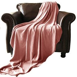 GOHD Golden Ocean Home Decor Super Cozy 100 Percent Bamboo Fiber Blanket. Ultra Softness and smo ...