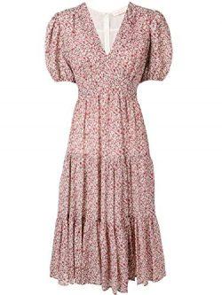 Tory Burch Women's 55420608 Pink Cotton Dress