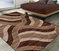 Silk Road Concepts SR-CIT3158-5X7 Collection Contemporary Rugs, 5'3″ x 7'3R ...