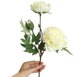pengchengxinmiao Artificial Silk Fake Flowers Peony Floral Wedding Bouquet Decor Consuming Anniv ...