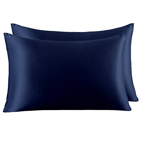 YANIBEST Pillow Cases 2 Pack 100% Mulberry Silk Pillowcase for Hair and Skin with Hidden Zipper  ...