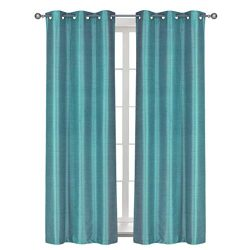 Home Queen Solid Grommet Blackout Curtain Drapes for Livingroom, Thermal Insulated Light Blockin ...