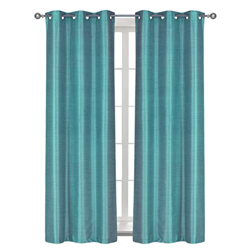 Thermal Blackout Curtains Reddit: Home Queen Solid Grommet Blackout Curtain Drapes For