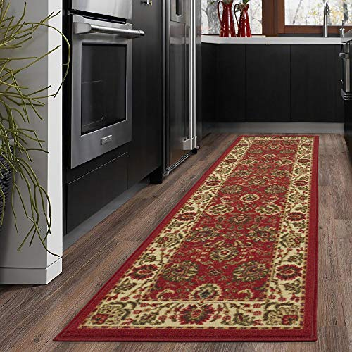 "Silk Road Concepts SR-OTH2130-2X7 Collection Traditional Rugs, 1'10"" x 7′, Dar ..."