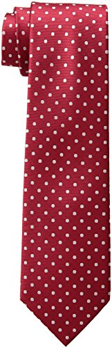 Tommy Hilfiger Men's Dot Print Tie, Red, One Size