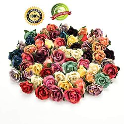 Silk Flowers in Bulk Wholesale Silk Flower Heads Wedding Artificial Flowers Birthday Party Decor ...
