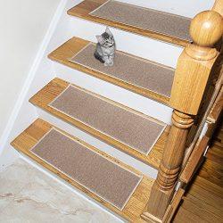 Silk Road Concepts SR-ESC2611-14 Stair Tread, 14 Pack, Beige
