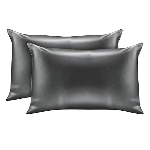 Impreshunz 2 pcs Satin Bedroom Faux Silk Pillowcases for Hair and Skin Pair of 2 – Satin 2 ...