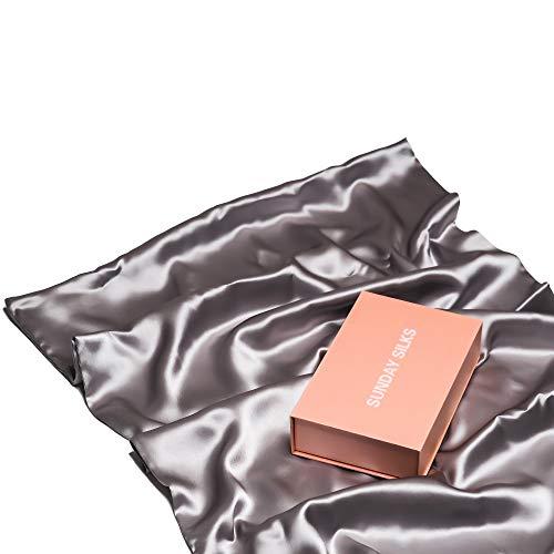 Silk Pillowcase for Hair and Skin – Anti Acne Pillowcase Queen Size – Highest Grade  ...